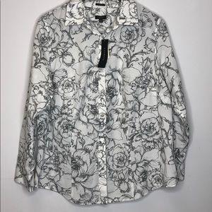 Talbots Button Down Shirt NWT Size 14WP